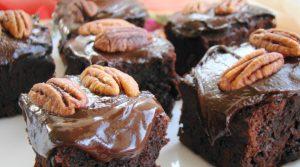 Super proste potrójnie czekoladowo orzechowe brownie, HolenderskiSkun, Holenderski Skun
