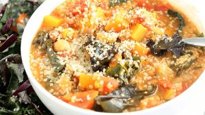 Warzywna zupa quinoa z nasionami konopi, HolenderskiSkun, Holenderski Skun